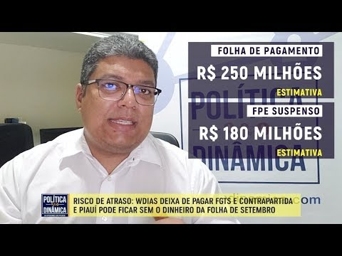 b94662af4 RISCO DE SALÁRIO ATRASADO - Marcos Melo - Política Dinâmica