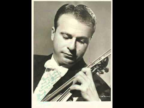 Henryk Szeryng plays Beethoven Violin Romance No.2, Op.50