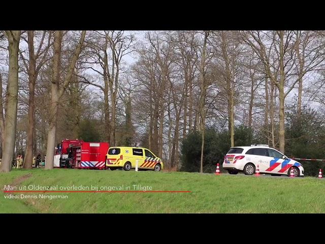 Man uit Oldenzaal overleden bij ongeval in Tilligte