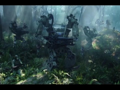 AVATAR  battle in the forest (only fight)  АВАТАР : Битва в лесу (только бой)