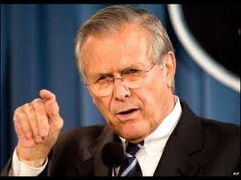 Donald Rumsfeld's New Book Is A Sad Joke