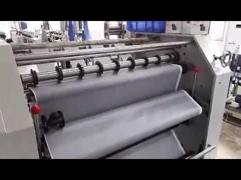 BOFENG Vertical blinds Fabric Slats Slitting and Rewinding Machinery