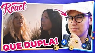 "React Christina Aguilera ft. Demi Lovato - ""Fall In Line"""