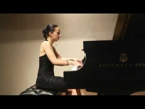 "Tania Stavreva plays Prokofiev - ""Suggestion Diabolique"" Op.4, No.4"