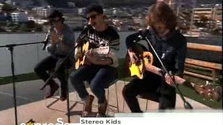 "The Plastics Perform "" Stereo Kids"" Live On Expresso (27.11.2012)"
