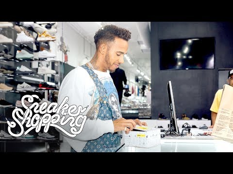 Lewis Hamilton Goes Sneaker Shopping With Complex Mp3