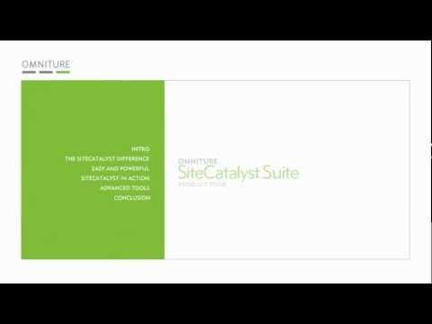 Omniture SiteCatalyst Product
