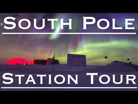 Amundsen-Scott South Pole Station Tour!!