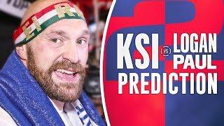 PREDICTION | Tyson Fury on KSI vs. LOGAN PAUL 2 - (Flashback to Fury in Vegas)