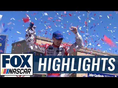 Kevin Harvick Wins Under Yellow   2017 SONOMA   FOX NASCAR