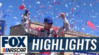 Kevin Harvick Wins Under Yellow | 2017 SONOMA | FOX NASCAR