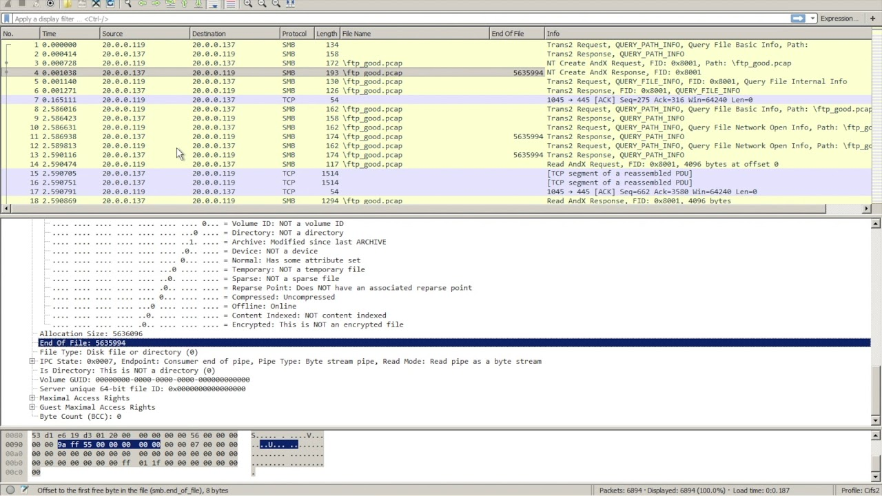 Creating a CIFS/SMB Wireshark Profile for File Transfer troubleshooting