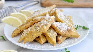 Italian Panelle (Chickpea Fritters) by Cooking with Manuela