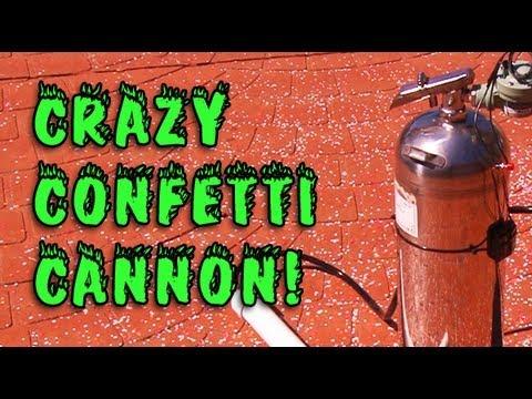 Homemade Confetti Cannon - EDM Culture