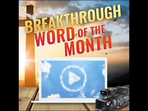 Breakthrough Prophetic Word for March 2019