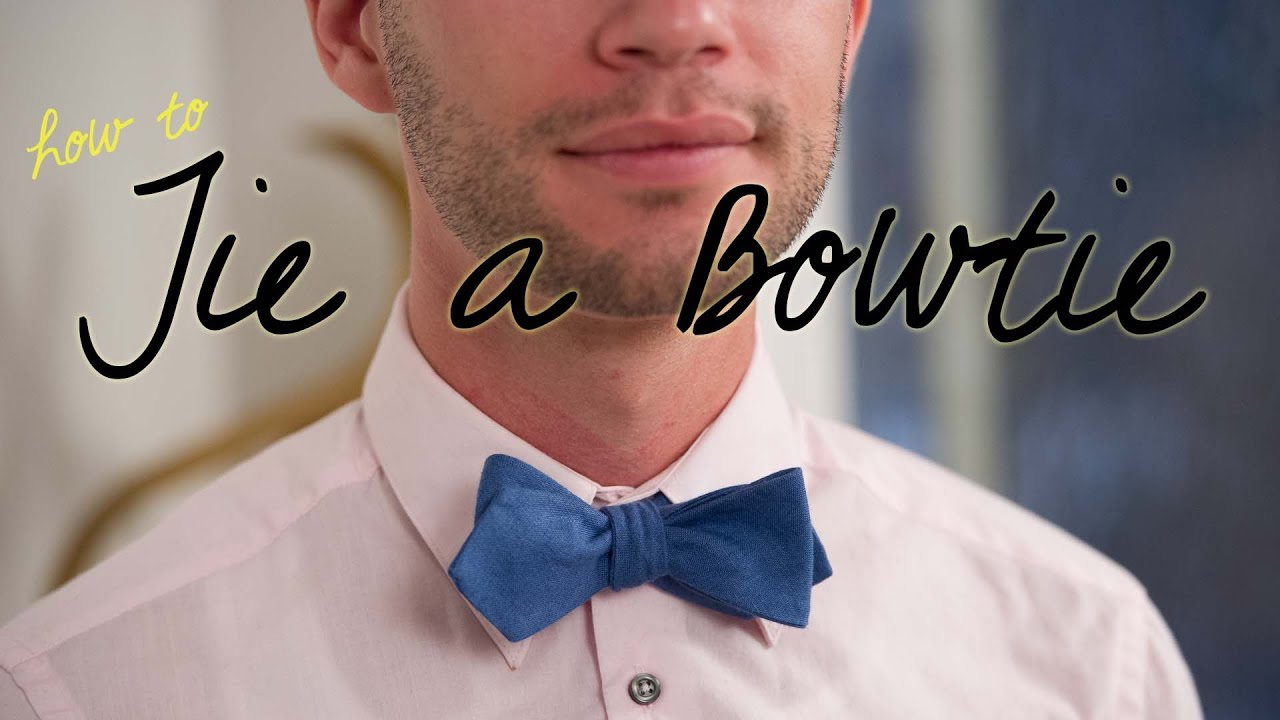 How to tie a bow tie on someone else and yourself youtube ccuart Image collections