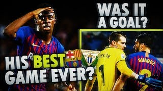 The BEST game of Dembele EVER! Barcelona 3-1 Leganes *MATCH REVIEW* BugaLuis