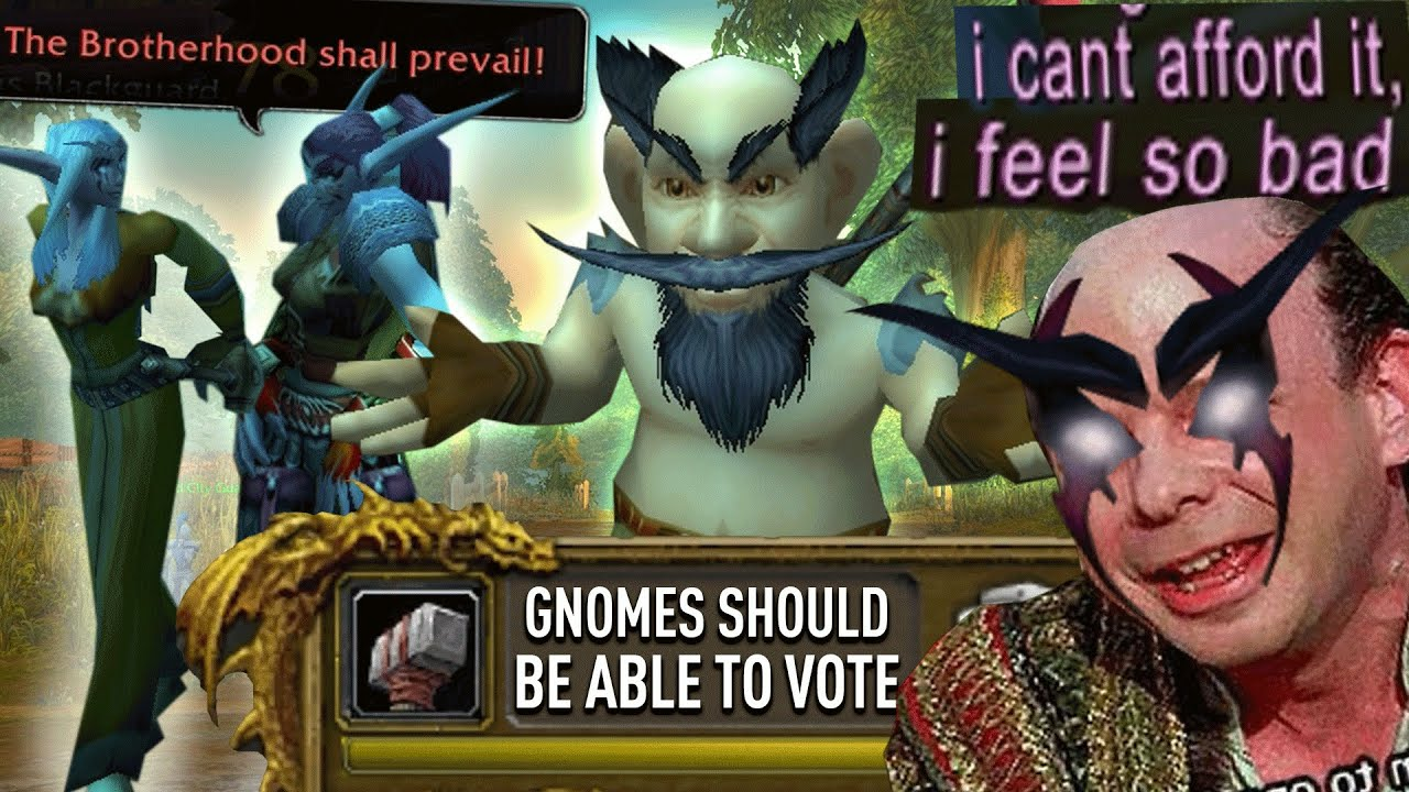 Deadmines and Naked gnomes (1-60) | World of Warcraft Classic thumbnail