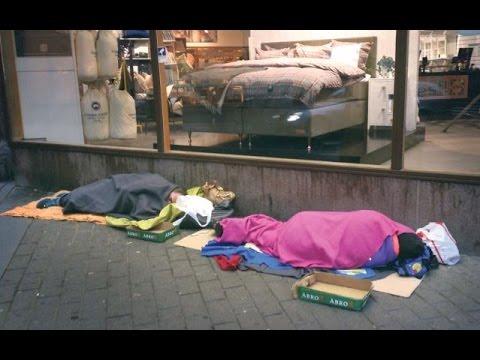Hemlosa och fattiga i sverige