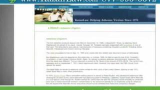 Mesothelioma Lawyers Asbestos Law Suit Stockton - Video