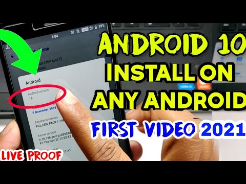 Android 10 Version Update Install On Any Mobile || First Look Android 10.0 Update 2019🔥