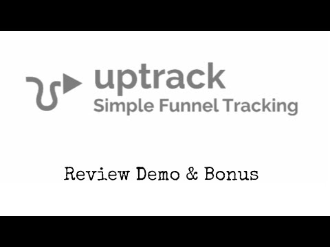 UpTrack Review Demo Bonus - All In One Link Tracker & Cloaker