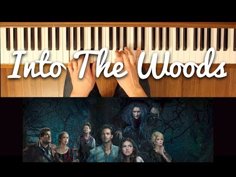 No One is Alone (Into the Woods) [Easy-Intermediate Piano Tutorial]