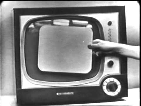 "Vintage old 1950's Westinghouse 17"" Lynwood Television TV Commercial 1950"