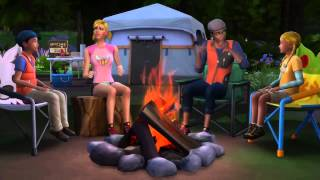 The Sims 4 Outdoor Retreat: Another Trailer Teaser