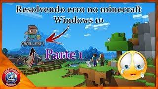 4 Maneira de resolver erros no Minecraft que não abre no Windows 10 e 8 #Parte 1