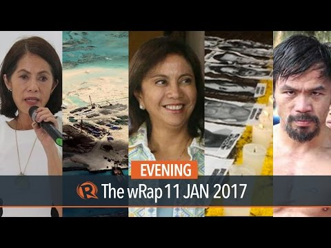 West Philippine Sea, Robredo, Pacquiao | Evening wRap