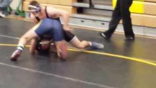 SP Wrestling Trevor Bellotte vs South River Raines