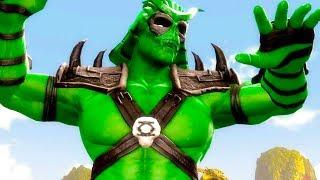 Mortal Kombat Komplete Edition - Green Lantern Deadpool Shao Kahn & Flash Tag Ladder Playthrough