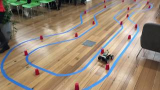 Gambar cover DonkeyCar: Self-driving scale RC car: Melbourne ML/A.I meet-up at ZenDesk 2019-07-16