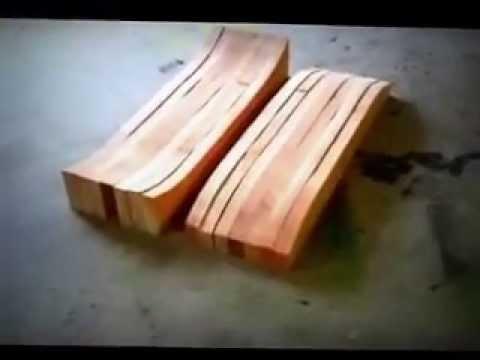 How to Make a Longbaord / Cruiser / Skateboard: The Mold ...