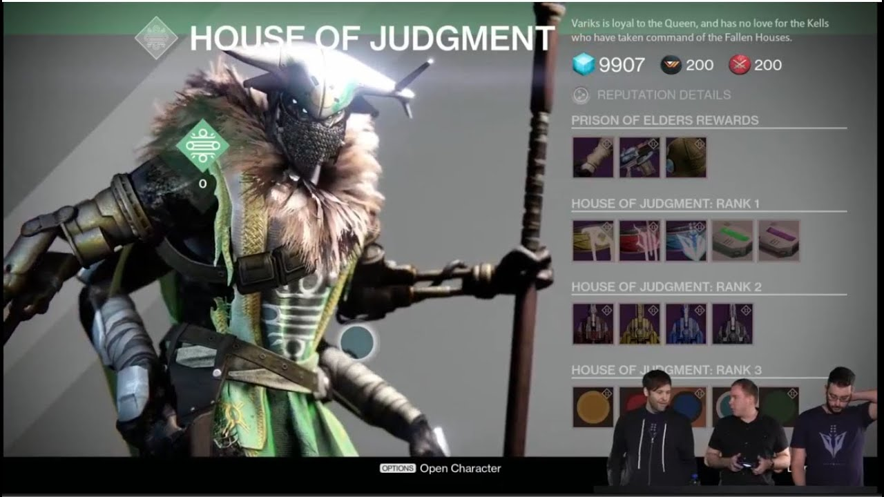 destiny house of wolves prison of elders matchmaking For those of you who missed out on bungie's livestream of destiny's new post-game mode, prison of elders, we've got some new details to tide you over.