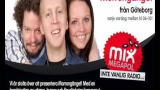 Nya Morrongänget på Mix Megapol Göteborg Tommy Telefonerar - Beppo Fröken Ur
