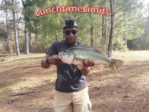 First 8 pound bass - Fort Gordon, Ga