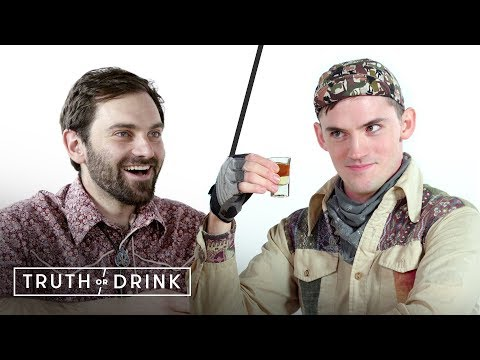 My Boss & I Play Truth or Drink (Dylan & Carlton) | Truth or Drink | Cut