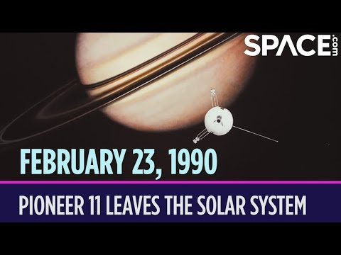 OTD in Space – February 23: Pioneer 11 Leaves the Solar System