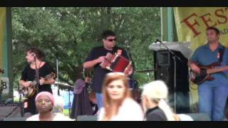 Cajun Music - Acadian Festival in Lafeyette, Louisiana - 2009