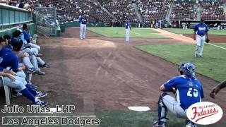 Julio Urias Prospect Video, LHP, Los Angeles Dodgers @RCQuakes #dodgers