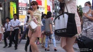 Shibuya On A Hot Summer Day - 渋谷