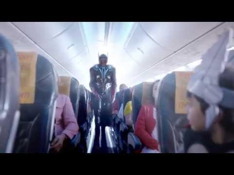 Pegasus Havayolları-Uçuş Güvenliği Videosu- Marvel Kahramanları
