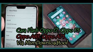 Oppo Msm Download Tool
