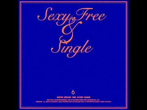 Super Junior - Sexy, Free and Single [ Audio + MP3 Download Link ]