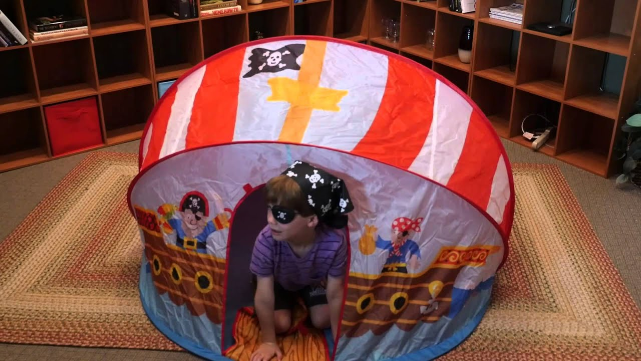ALEX Toys Pirate Tent 788 & ALEX Toys Pirate Tent 788 - YouTube