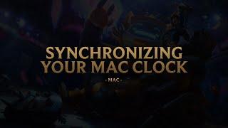 Mac - Synchronizing Your Mac Clock