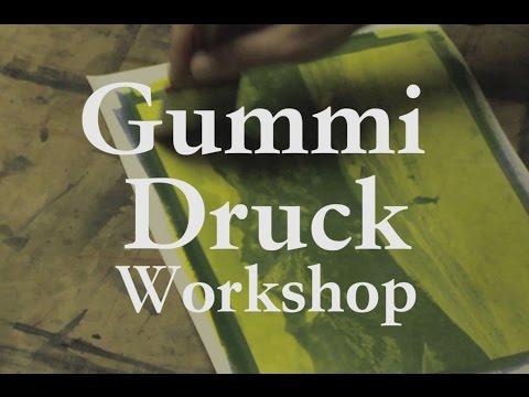 Gum print workshop