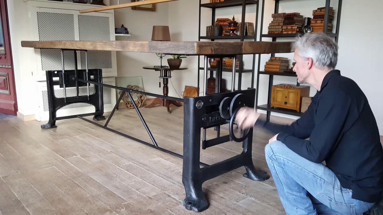 Limited edition nr20 adjustable height table hoogte verstelbare